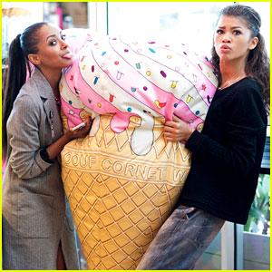 Zendaya & Kat Graham Are Shopping BFF's!