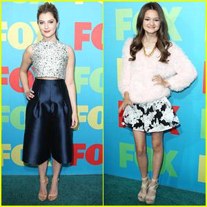 Zoe Levin & Ciara Bravo Take 'Red Band Society' To Fox Upfronts