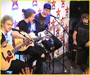 5 Seconds of Summer Celebrate New Album at Virgin Radio in Paris