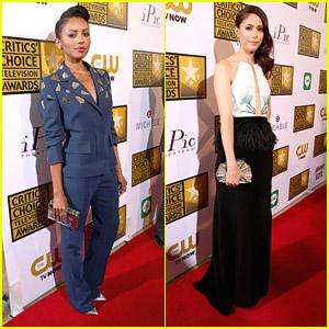 Kat Graham & Amanda Crew - Critics' Choice Television Awards 2014