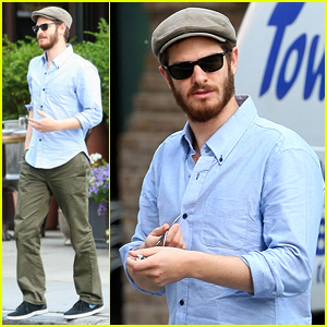 Andrew Garfield Can Rock a Golf Cap Better Than Anyone!