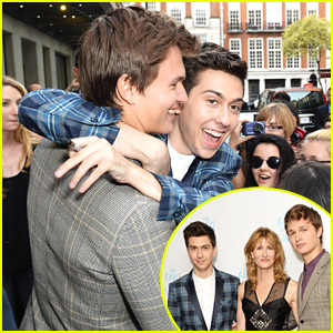 Ansel Elgort & Nat Wolff Might Just Be Our Favorite Bromance Yet