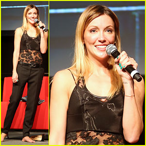 Katie Cassidy Uses Her Passion for Fashion as a Creative Outlet