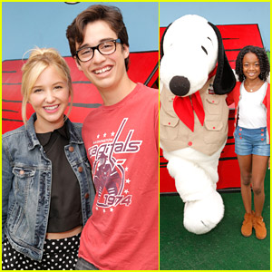 Audrey Whitby & Joey Bragg Celebrate Camp Snoopy's 30th Anniversary!