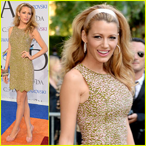 Blake Lively Slays the Competition at CFDA Fashion Awards 2014!