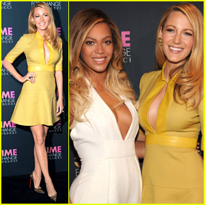 Blake Lively Parties with Beyonce at Gucci's Chime for Change Event!