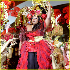 Candice Glover's Life Ball Performance Looked Epic!