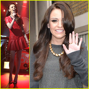 Cher Lloyd Promotes 'Sorry I'm Late' In London