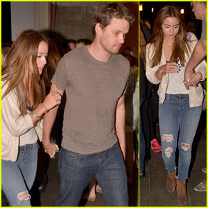 Chloe Bennet & Austin Nichols Hold Hands for a Movie Date!