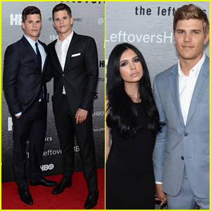 Chris Zylka Premieres 'The Leftovers' in NYC with Co-Stars Max & Charlie Carver!