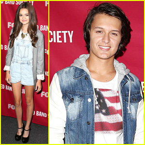 Ciara Bravo & Nolan Sotillo Present 'Red Band Society' at Special Fan Screening!