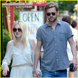 Dakota Fanning Spends Time with Boyfriend Jamie Strachan After Summer Solstice Soiree