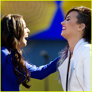 Cher Lloyd Joins Demi Lovato For 'GMA' Concert Series - Watch Their Performance!