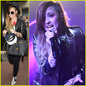 Demi Lovato Gets Love from Fans After Killer Performance at G-A-Y!