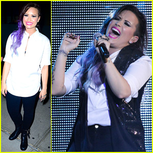 Demi Lovato Performs at NYC Gay Pride!
