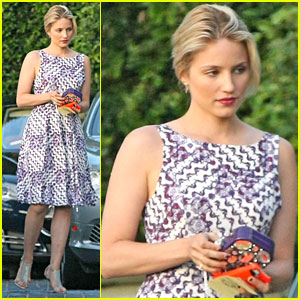 Dianna Agron: Thank Goodness for Kevin McHale!