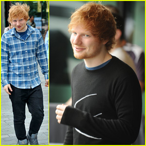 We Can't Stop Listening to This Live Version of Ed Sheeran's New Song 'Thinking Out Loud'