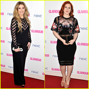 Ella Henderson & Katy B See Sheer-Goodness at Glamour Women of the Year Awards