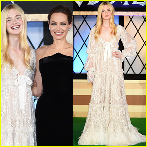 Elle Fanning Joins Angelina Jolie at 'Maleficent' Premiere in Tokyo, Film Passes $500 Million Mark!