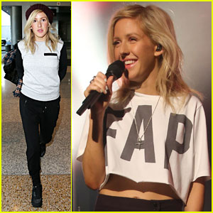 Ellie Goulding Beatboxes on Stage in Sydney! (Video)