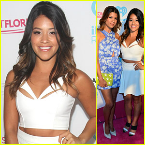 Gina Rodriguez Heats Up the iHeartRadio Pool Party