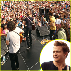 Hunter Hayes Is 'Always Nervous' Before Performing
