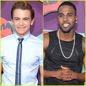 Hunter Hayes & Jason Derulo Arrive at the CMT Music Awards 2014!