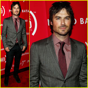 Ian Somerhalder Steps Out for 'Eat (RED). Drink (RED). Save Lives.' Launch!
