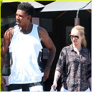 Iggy Azalea Grabs Lunch with Boyfriend Nick Young