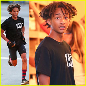 Jaden Smith Let Kris Jenner Borrow His Batman Boots After Kim Kardashian's Wedding!