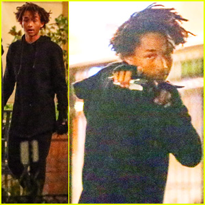 Jaden Smith Makes Late-Night Sushi Run