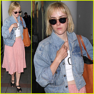 Jena Malone Was Sick on Her First Day of 'Catching Fire' Filming