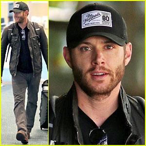 Jensen Ackles Flies Back to Vancouver for 'Supernatural'