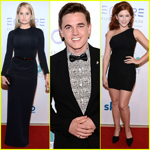 Jesse McCartney & Debby Ryan Step Out at Thirst Gala 2014