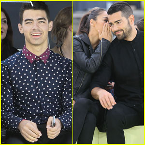 Joe Jonas Sits Next to Jesse Metcalfe at the Kenzo Show at Paris Fashion Week!