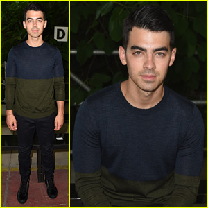 Joe Jonas Goes Two-Toned for Diesel Black Gold Fashion Show in Milan!