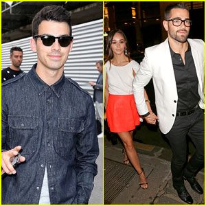 Joe Jonas & Jesse Metcalfe Make Us Swoon During Paris Fashion Week!
