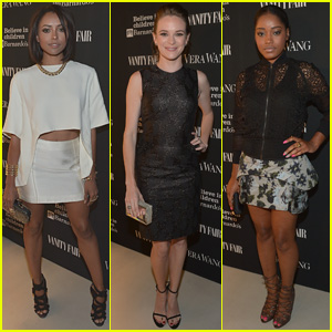 Kat Graham & Danielle Panabaker Hit the Vera Wang Opening with Keke Palmer!