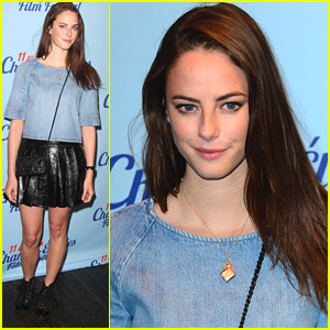 Kaya Scodelario Roots For Brazil in World Cup Ahead of 'Emanuel' Paris Premiere