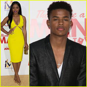 Keke Palmer Brightens Up 'Think Like a Man Too' Premiere with Trevor Jackson