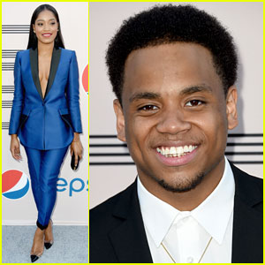 Keke Palmer & Tristan Wilds Suit Up for BET Awards 2014 Pre-Dinner!
