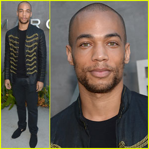 Kendrick Sampson Makes Us Swoon at the Marc By Marc Jacobs Preview