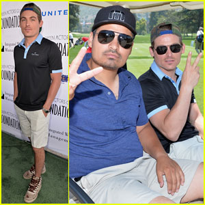 Kevin Zegers Tees Off at 'Actors Fore Actors' Golf Classic 2014!