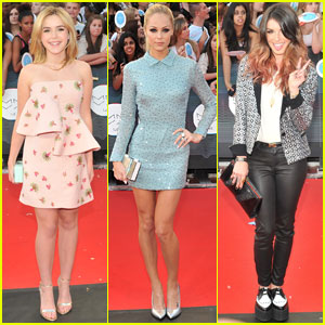 Kiernan Shipka & Laura Vandervoort Bring Pretty Pastels to the MuchMusic Video Awards 2014!