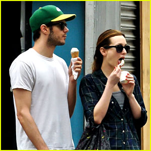 Leighton Meester Goes Out for Ice Cream with Adam Brody!