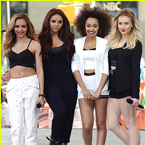 Little Mix 'Salute' The US on the 'Today' Show