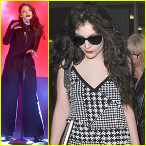 Lorde Makes A Wish at Trevi Fountain in Rome After Music Awards