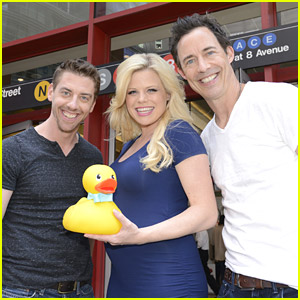 Megan Hilty, Christian Borle & Tom Cavanagh Are Lucky Ducks - Watch An Exclusive Clip From The New Disney Junior Movie Here!