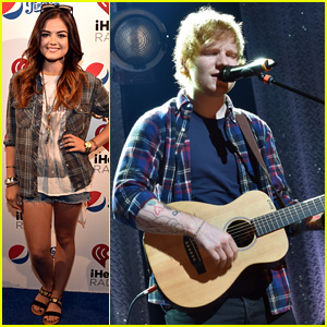 Lucy Hale Loves Ed Sheeran as Much as We Do, Attends His Album Release Party!