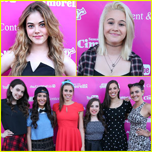 McKaley Miller Steps Out for 'Summer With Cimorelli' Event!